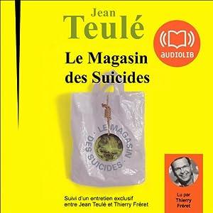 Le magasin des suicides | Livre audio