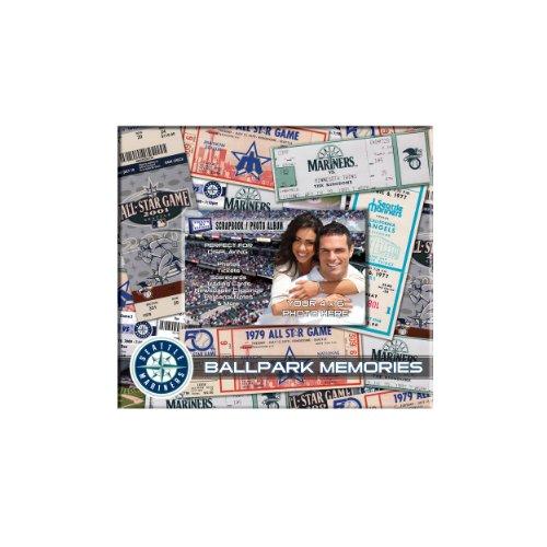 MLB Seattle Mariners 8x8 Scrapbook Photo Album