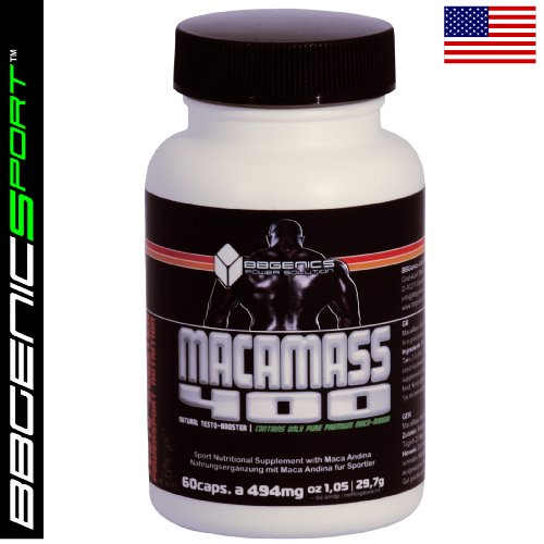 Macamass 400 - Anabolic Muscle Building Supplement Based On Maca-Andina(Original U.S. Formula)