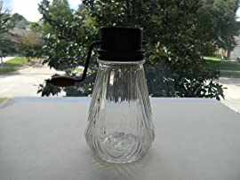Vintage Nut Chopper Draping Pattern Glass