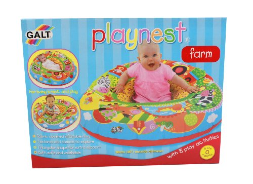 Galt Playnest Farm Covered Inflatable Ring - 1