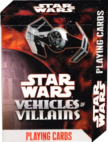 Star Wars Vehicles of Villains Playing Cards - 1