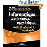 Informatique et sciences du numérique - Spécialité ISN en terminale S, avec des exercices corrigés et des idées...