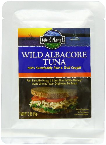 Wild Planet Albacore Tuna, 3-Ounce Pouch