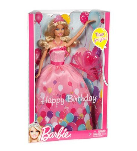 Toy / Game Barbie Birthday Princess Doll Gift Set - The Perfect Gift To Help Girls - For Ages 1 Year And Up front-965213