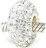 Beads Hunter 925 Sterling Silver Swarovski Crystal Beads Fit Pandora Bracelets