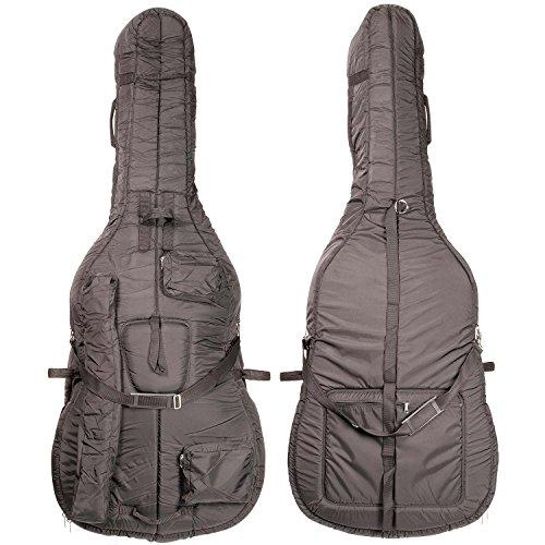 Bobelock 3/4 Upright String Double Bass Soft Bag - Black (Black Upright Bass compare prices)