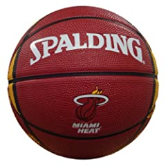 Buy NBA Miami Heat Mini Basketball by Gulf Coast Sales