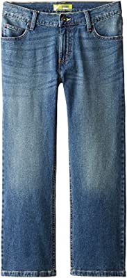 Lee Big Boys' husky Lee Sport Straight Fit Jean