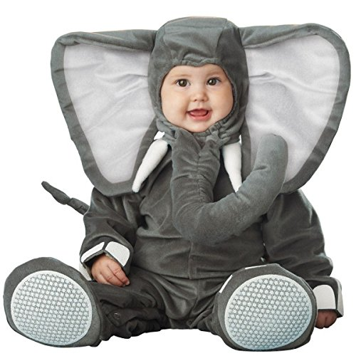 Lil' Elephant Costume - Infant Large (Elephant Kids Costume)