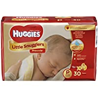 Huggies Little Snugglers Baby Diapers Size Preemie (30 Count)