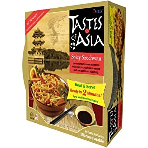 Tastes of Asia Instant Noodles, Spicy Szechwan, 8.50 Ounce (Pack of 6) from Tastes of Asia