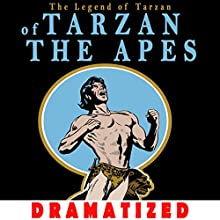 Tarzan of the Apes Audiobook by Edgar Rice Burroughs Narrated by Jason Damron