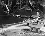 1800s Photo Brenner Station Graphic. Train Station On Brenner Pass, Showing B D6