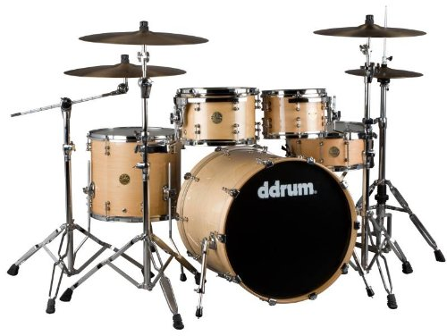 ddrum Dios 5 Piece Maple Drum Shell Pack-Natural