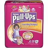 Huggies Pull-Ups Training Pants, Girls, 4T-5T, 33-Count