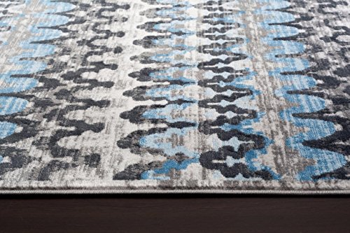 2389 Gray Blue 7'10x10'2 Area Rug Modern Carpet Large New