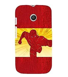 EPICCASE The Flash Mobile Back Case Cover For Moto E (Designer Case)
