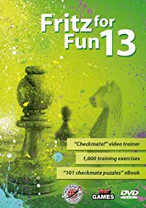 Fritz for fun 13 Chess program incl. video training and ebook exercises (english)
