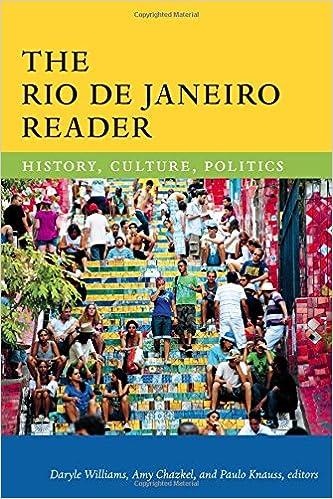 Lançamento The Rio de Janeiro Reader, co-organizado por Amy Chazkel, Daryle Williams e Paulo Knauss.