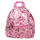 Ballet Design Polyester 11 inch Elementary Preschool Backpack