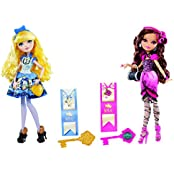 Maven Gifts: Ever After High Blondie Lockes Fashion Doll With Briar Beauty Doll