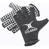 Gilbert International Rugby Gloves (Black, X-Small)
