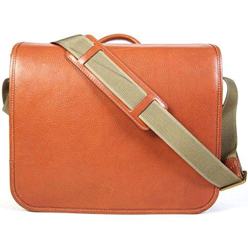 Bosca 842-94 Correspondent Messenger Bag