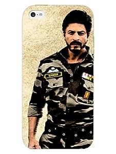 iPhone 5 5S Cover - SRK - JAB TAK HAI JAAN - For SRK Fans - Designer Printed Hard Shell Case