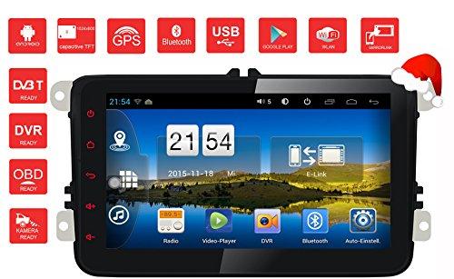 PAD-AV8-Android-Autoradio-Naviceiver-Moniceiver-Mirrorlink-BT-GPS-Navi-WIFIRDSPlaystore16GB12Ghz1024600FahrspurassistentWIFIVolkswagen-Amarok-Caddy-EOS-Golf-V-Golf-VI-Golf-Plus-Jetta-Passat-Passat-3C-