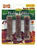 51HodlEbSxL. SL160  Nylabone Healthy Edibles Bones, 3 Bone Variety Pack, Petite