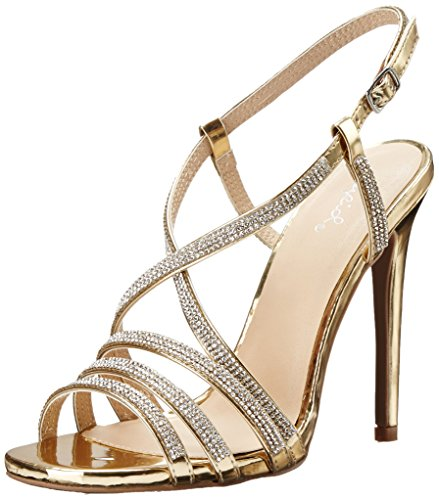Qupid Women's Diamond 26 Dress Sandal