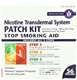 Habitrol Nicotine Transdermal System Patch Step 1, 2, 3 Stop Smoking Aid, 56 Count