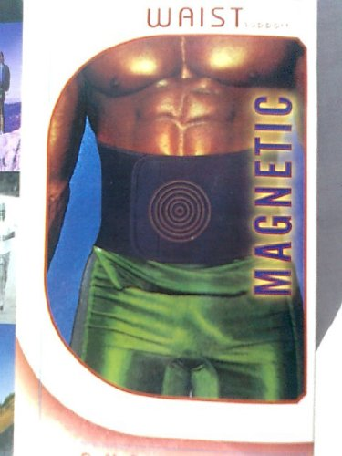 Fascia Lombare-Per Sportivi,Moto,Bici,Palestra-Fitness Belt-Cintura Mal di Schiena, Rapido sollievo dal dolore-MagneticTerapia,16Magneti 500 gauss-Supporto corretta postura-Effetto dimagrante-Per Uomo o Donna-Colore Nero