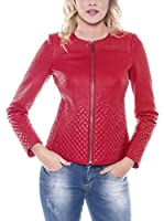 GIORGIO DI MARE Cazadora Piel Women'S Leather Jacket (Rojo)