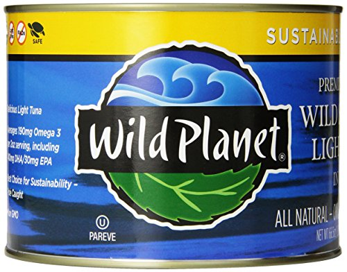 Wild Planet Wild Skipjack Light Tuna in Spring Water, 66.5-Ounce Can