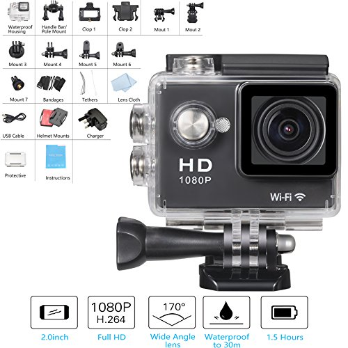Mesqool-20-Inch-Full-HD-1080p-12MP-WIFI-Action-Camcorder-170Wide-angle-Glass-Len-Mini-Waterproof-Diving-Sports-Video-Camera