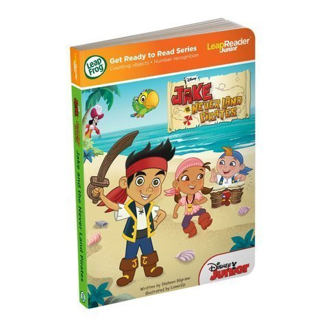 Game / Play Leap Frog Leap Reader Junior Book: Disneys Jake And The Never Land Pirates (Works With Tag Junior)...