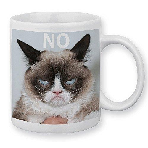 Tazza GRUMPY CAT no (Gatto Brontolo)-Fabbricato in Francia-Licenza ufficiale Chamalow Shop