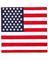 "US American Flag Bandana (22"" x 22"")"
