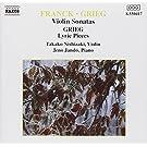 Franck / Grieg Violinsonate Jando