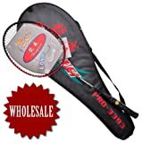 GOGO 4 Players Badminton Racquets # 3393, Aluminum Badminton Racket (Price for 4 pcs) ~ GOGO