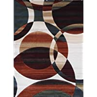 Modern Area Rug Reflections Design # 583 Multicolor