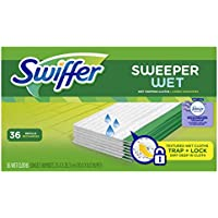 36 Count Swiffer Sweeper Wet Mopping Pad Refills for Floor Mop