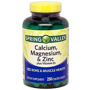 Amazon.com: Spring Valley - Calcium Magnesium and Zinc ...