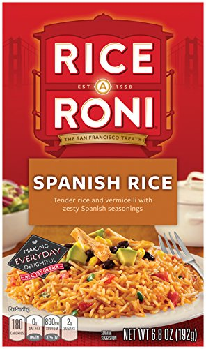 Rice a Roni, Spanish Rice Mix, 6.8oz (Pack of 12 Boxes) (Mexican Cheese Blend compare prices)