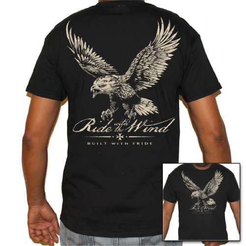 Biker Life USA Men's Ride with the Wind Biker T-Shirt
