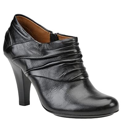 Sofft Women's Black Leather Florina 6.5 B(M) US