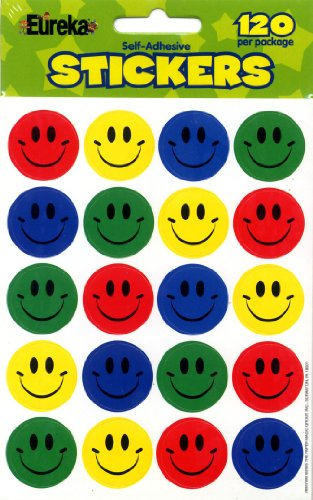 Eureka Smiles Stickers