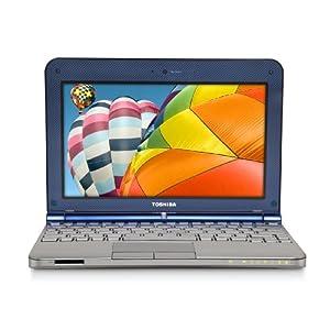 Toshiba Mini NB205-N312/BL 10.1-Inch Royal Blue Netbook - 9 Hour Battery Life
